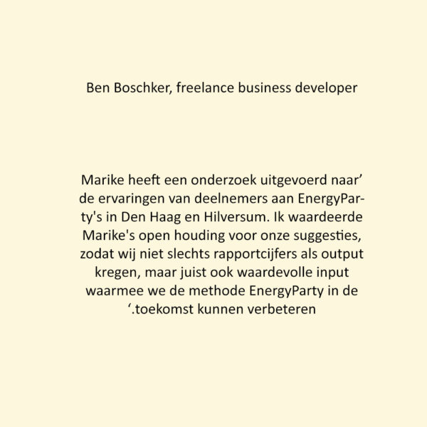 Ben BoschCREAM