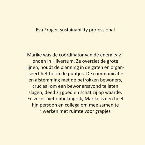 Eva Froger CREAM